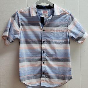 Wrangler boys 8 button down shirt